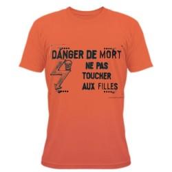 Funny T-Shirt - Les filles électriques