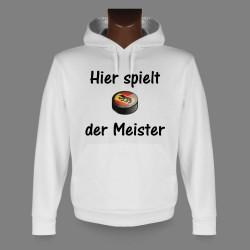 Kapuzen-Sweatshirt - Bern Eishockey Puck - Hier spielt der Meister