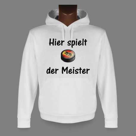 Hooded Funny Sweat - Bern Ice Hockey - Hier spielt der Meister