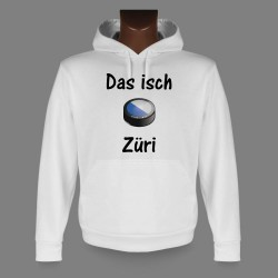 Hooded Funny Sweat - Ice Hockey - Das isch Züri