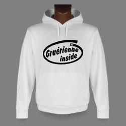 Frauen Kapuzen-Sweatshirt - Gruérienne inside