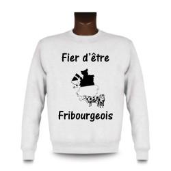 Sweatshirt - Fier d'être Fribourgeois