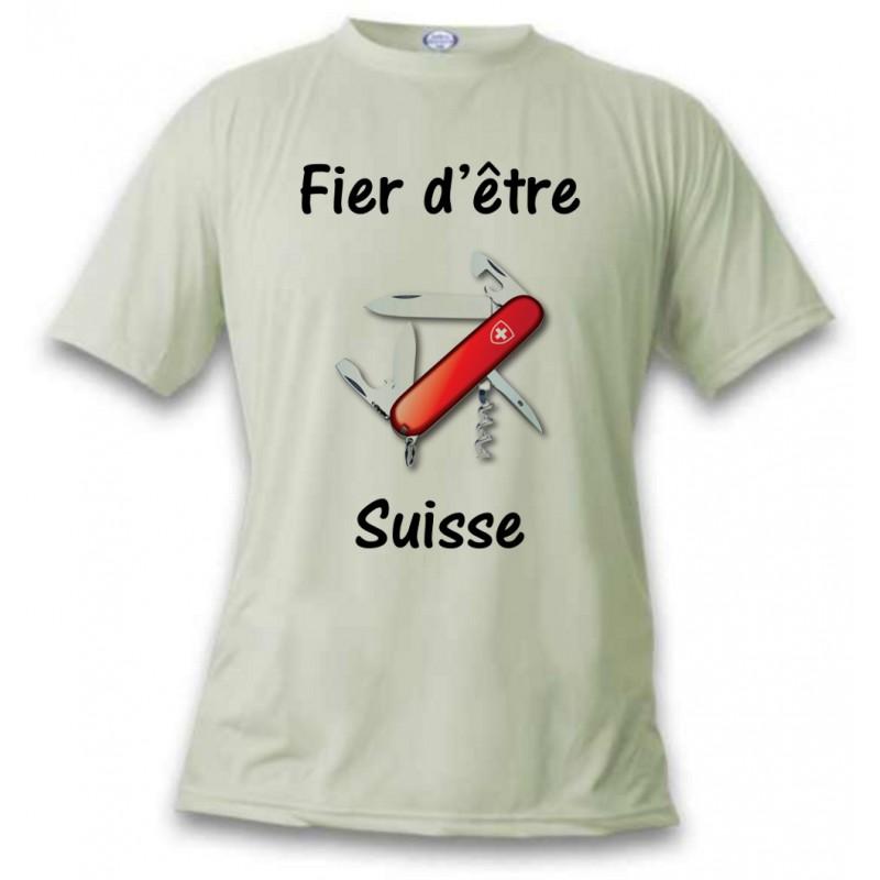 Men S T Shirt Fier D 234 Tre Suisse Swiss Army Knife