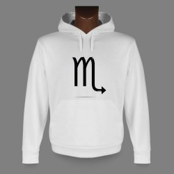 Women's or Men's Hooded Funny Sweat - astrological sign - Scorpio