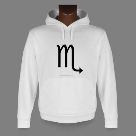 Kapuzen-Sweatshirt - Sternbild Skorpion, für Frauen und Herren