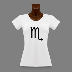 Frauen Slim T-shirt - Sternbild Skorpion
