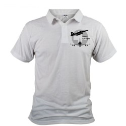 Polo shirt homme - avion de combat - Swiss F-5 Tiger, Devant