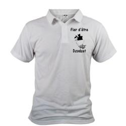 Uomo Polo Shirt -  - Fier d'être Dzodzet, Davanti