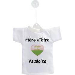 Mini T-Shirt - Fière d'être Vaudoise - Autodekoration