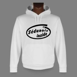 Kapuzen-Sweatshirt - Sédunois inside