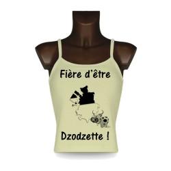 Women's Top - Fière d'être Dzodzette !