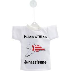 Car's Mini T-Shirt - Fière d'être Jurassienne