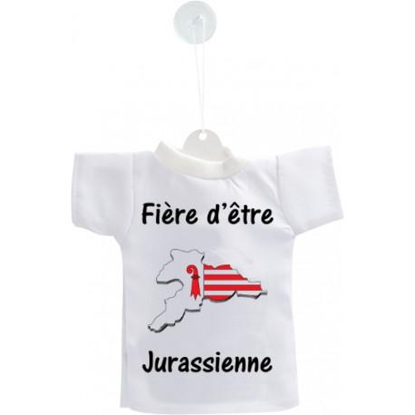 Car's Mini T-Shirt - Fière d'être Jurassienne - per automobile