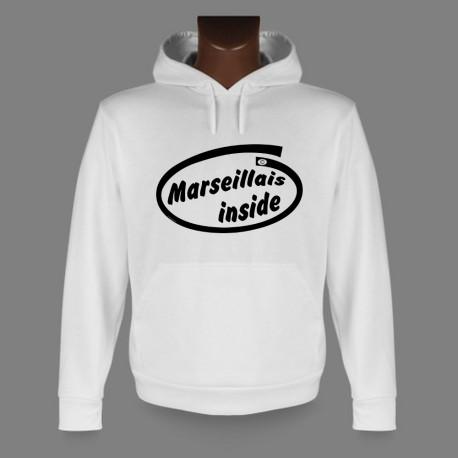Kapuzen-Sweatshirt - Marseillais inside