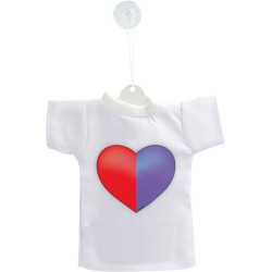 Mini T-Shirt - Coeur tessinois