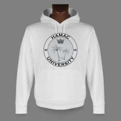 Hooded Funny Sweat - HAMAC University