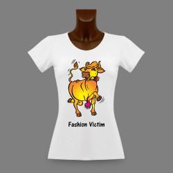 Frauen Slim T-shirt -  Fashion Victim