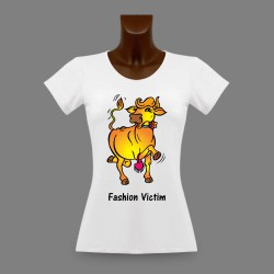 T-Shirt - Fashion Victim Cow