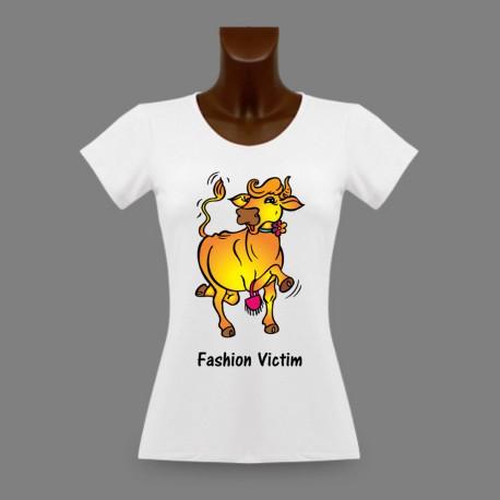 T-Shirt slim femme - Fashion Victim