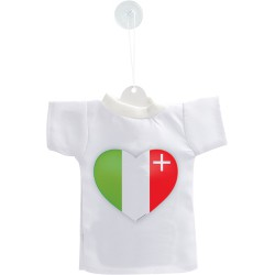 Mini T-shirt - Cuore di Neuchâtel, per automobile