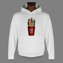 Frauen oder Herren Kapuzen-Sweatshirt - Armes de création massive