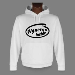 Kapuzen-Sweatshirt - Vigneron inside