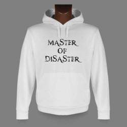 Funny Kapuzen-Sweatshirt - Zitat - Master of Disaster