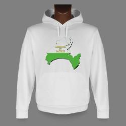 Kapuzen-Sweatshirt - Waadt 3D Grenzen