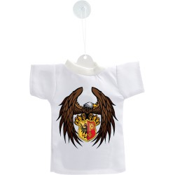 Mini T-shirt - Aquila Ginevra, per automobile