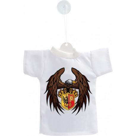 Mini T-shirt - Aquila Ginevra, per automobile
