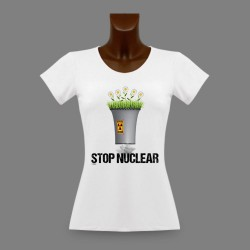 T-Shirt slim - Stop Nuclear