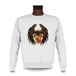 Sweatshirt - Genfer Adler, White