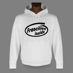 Hooded Funny Sweat - Francilien inside