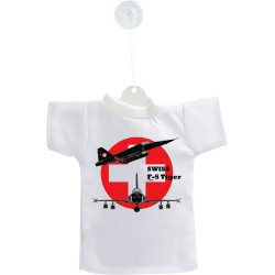 Car's Mini T-Shirt - Fighter Aircraft -  Swiss F-5 Tiger - Color Version