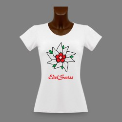 Women's slinky T-Shirt - EdelSwiss