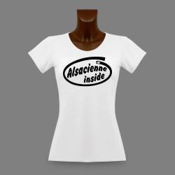 Frauen slim T-shirt - Alsacienne Inside