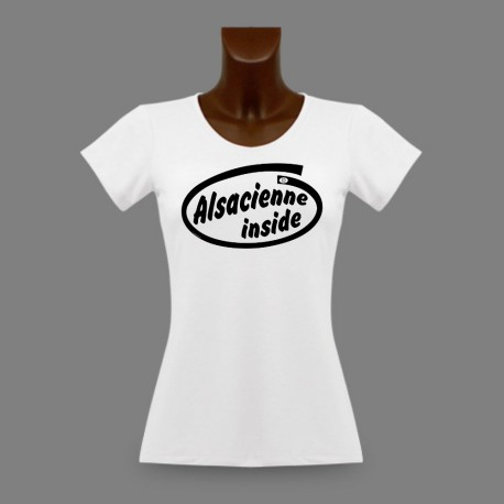 T-Shirt dame slim - Alsacienne Inside
