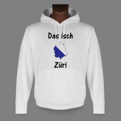 Kapuzen-Sweatshirt - Das isch Züri
