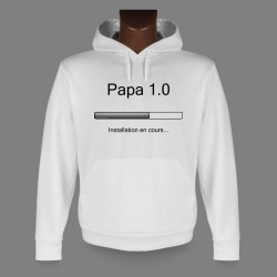Sweat à capuche - Papa 1.0