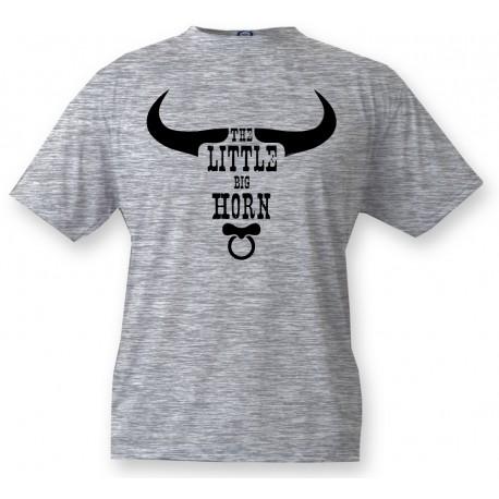 T-shirt humoristique enfant - Little Bighorn, Ash Heater