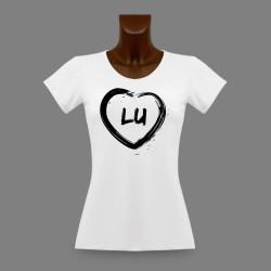Women's Lucerne slinky T-Shirt - LU Heart