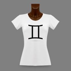 Slim T-shirt - Sternbild Zwillinge