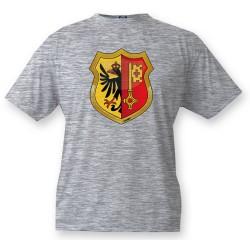 Kinder T-shirt - Genfer Wappen, Ash Heater