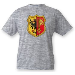 Youth T-shirt - Geneva coat of arms, Ash Heater