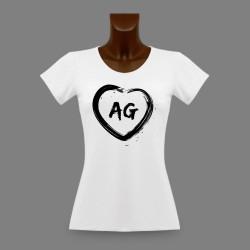 Women's Aargau slinky T-Shirt - AG Heart