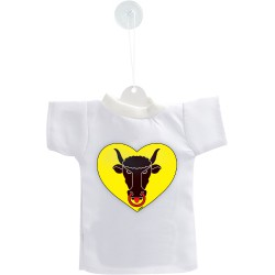Mini T-shirt - Cuore Uri, per automobile