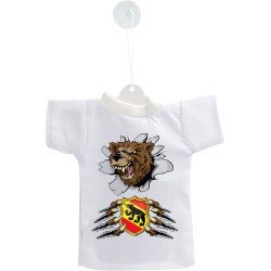 Mini T-shirt - Orso e blasone bernese, per automobile