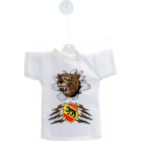 Car's Mini T-Shirt - Bern Bear and coast of arms