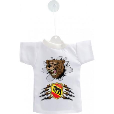 Mini T-Shirt - Ours et blason bernois - pour votre voiture