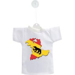 Mini T-Shirt - Frontières bernoises 3D - pour votre voiture